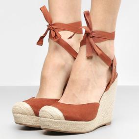 7b4cf6be4 Sandalia Anabela Dariely Outros Tipos - Sapatos no Mercado Livre Brasil