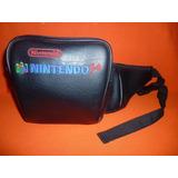 Nintendo 64 Bolsa De Viaje Tipo Cangurera N64