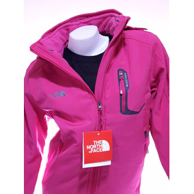 Campera North Face Soft Shell Desmontable Mujer