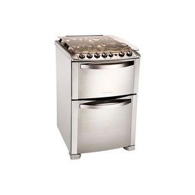 Cocina Electrolux 56dtx Doble Horno Inox