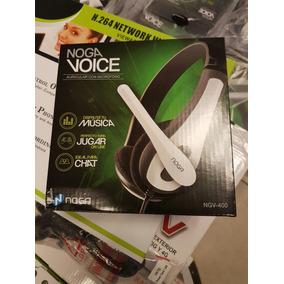 Auricular Pc Noga Voice
