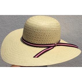 Sombrero De Dama De Playa De Palma Fina