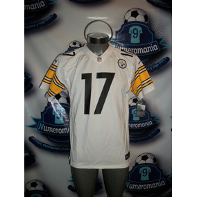 Jersey Original Nike Nfl Youth Acereros Steelers Blanco