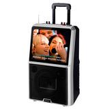 Parlante A Batería Kolke Karaoke Pro Pantalla 14