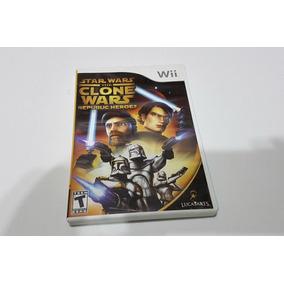 Star Wars The Clone Wars Republic Heroes - Wii - Usado