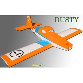 Aeromodelo De Isopor P3 E Deprom Dusty Vôo Rasante Aerods