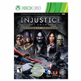 Injustice - Gods Amoung Us - Xbox 360 - Mídia Física