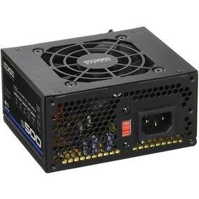 Acteck Fuente De Poder 500w Slim Edge Systems S500 Es-05002