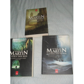 Libros Game Of Thrones Vol.1,2 & 3. En Portugues-br.