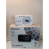 Camara De Fotos Digital Panasonic S2 Nueva En Caja C/acc