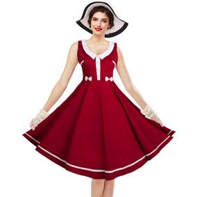 Zaful Mujer Elegante Bowknot Vestido Retro