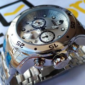 Relógio Invicta Pro Diver 0071 Original Prata Aço Inox 48mm