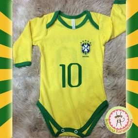 19cd9f21a866a Camisa Seleção Handebol - Roupas de Bebê no Mercado Livre Brasil