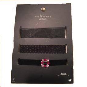 3 Pack Choker Zara Original