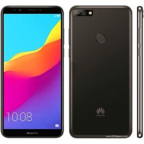 Celular Huawei Y7 2018- Oc- 2/16gb-dual Sim-negro- Oficial