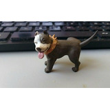 2007 Hood Hounds Homies Brown White Pit Bull Dog 2 Inches