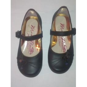 1bc9319b Zapato De Piso Para Dama Escolar (flats ) C/latigo Y Hebilla