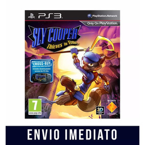 Sly Cooper Thieves In Time Ps3 Psn Envio Agora