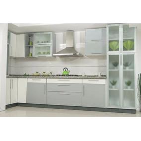 Mueble cocina moderno muebles de cocina en mercado libre for Cocina estilo moderno
