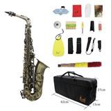 Kit Saxofón, Instrumento Y Valija Con Accesorios, Colores