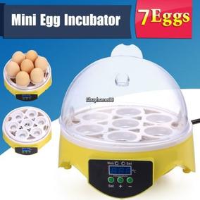Máquina De Incubar Clara Amarilla 7 Huevos Incubadora Digita