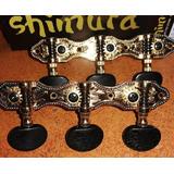 Clavijero De Lujo Para Guitarra Criolla Shimura 405gk A2b