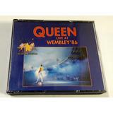 Cd Queen Doble Live At The Wembley ´86 1992 Oka Impeca