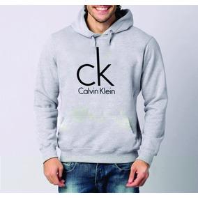 a5ae96b014ee0 Blusa Moletom Calvin Klein 100% Algodão Com Bolso E Capuz