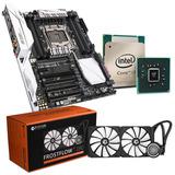 Combo Mother Asus 99x Core I7 5820k Refrigeracion Liquida