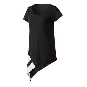 Remera adidas Originals Eqt Block Negra Grid Mujer