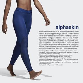 Calza Larga adidas Alphaskin Para Dama Running Entrenamiento
