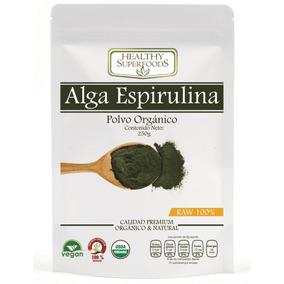 Alga Espirulina Orgánica 250g