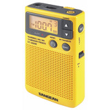Sangean Radio Bolsillo Am/fm Alerta Meteorologica Dt400w