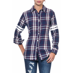 Camisa Volcom Mujer Poetry Girl Flannel