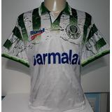753c9f1546 Camisa Palmeiras Rhumell 1996 Unif.2 Branca 10 Tam. G - Camisas de ...