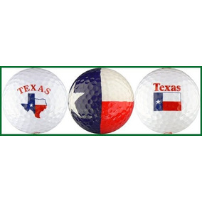 Conjunto De Regalo De La Pelota De Golf Texas Variety Flag c6d7c8753f5d5