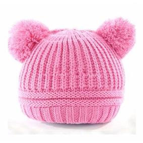 Touca Bebe Gorro Touquinha Pom Pom Croche Inverno Promoção 3d9103e0c10