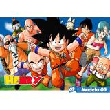 Painel Lona Festa Aniversário Dragon Ball Z Goku Puma Vegeta