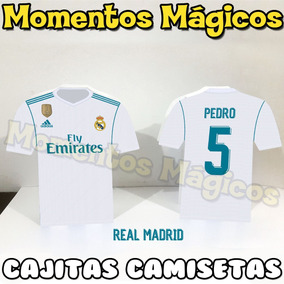5c3e6e123 Camiseta Real Madrid Kappa - Souvenirs para Cumpleaños Infantiles en ...