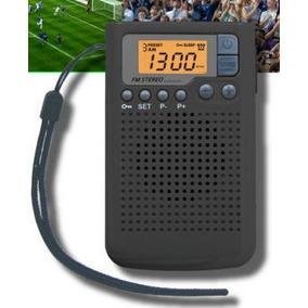 Radio Portátil Beck Am Fm Reloj Despertador Memorias
