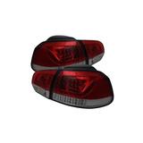 Luces Traseras Led De Volkswagen Golf / Gti Regalo Rojo Y Li