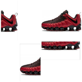 Tênis Nike Shox Tlx 12 Molas Branco E Prata + Frete Grátis Tenis Em ... 9be85dd62bc92