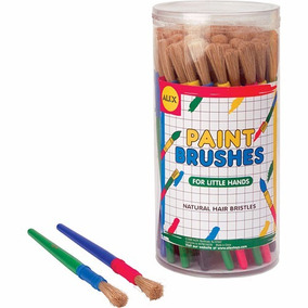 Canister Mid Size Brushes (60 Piezas) Alex Toys