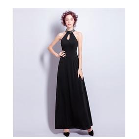 Vestidos Fiesta Noche Elegante Negro Envío Gratis