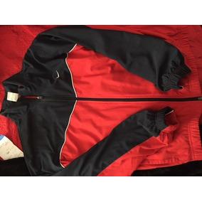 Conjunto Deport Con Campera Nike Azul Con Rojo Hombre T Med eac2b11b823ac
