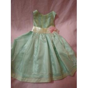 Vestidos de nina en color verde agua
