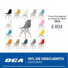 Silla Eames Con Patas De Madera - 14 Colores !!!