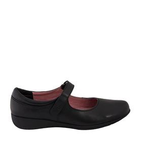 Zapato Casual Flexi 5802 Dama O Niña, De Piel, Escolar, Msi