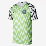 Camiseta Nigeria Mundial Rusia 2018 Por Encargue Casacas Uy