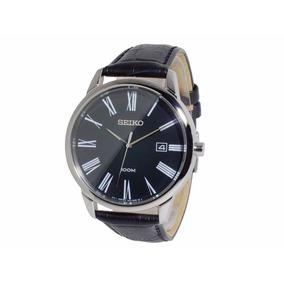Reloj Seiko Sgeh13 Hombre Cuero Calendario Garantia Oficial
